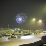 Fireworks from Anadyr