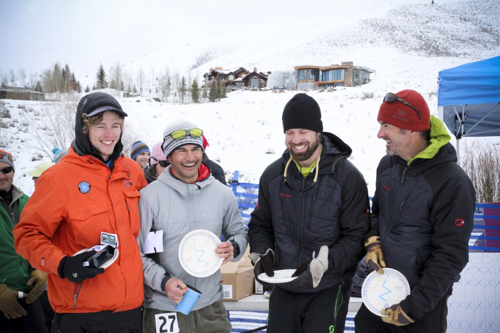 Podium. Ethan, Terry, Simon and Blase.