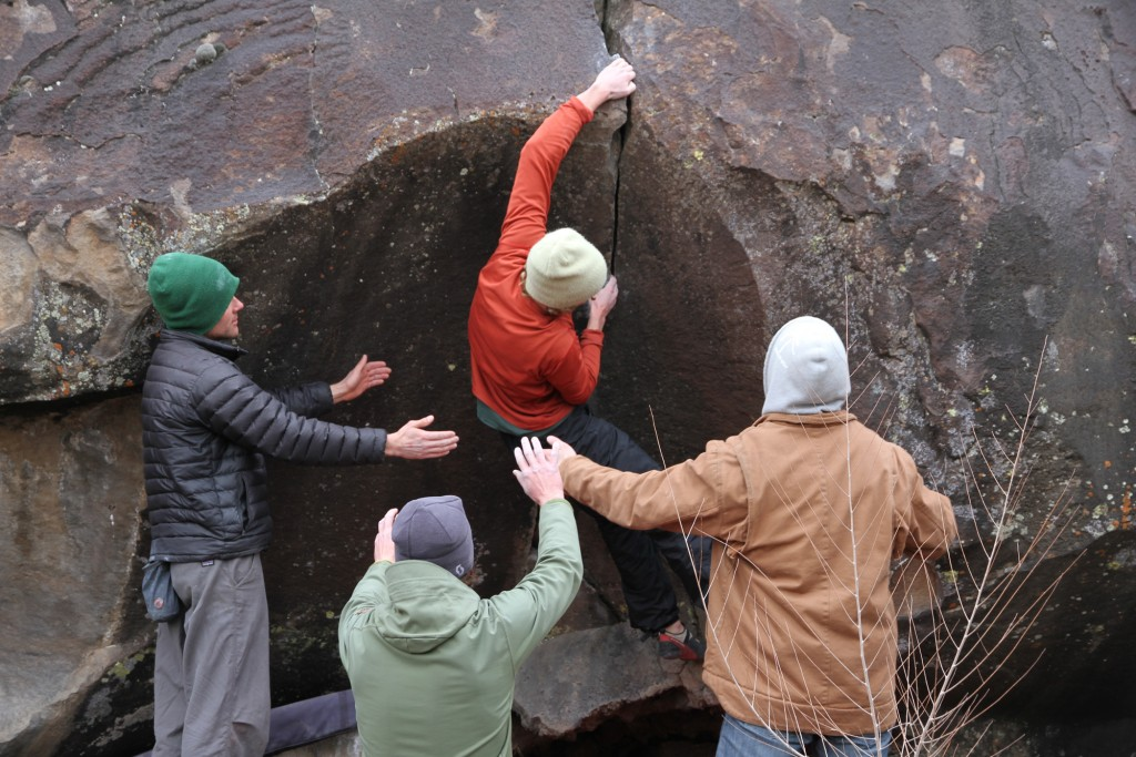 I have never felt safer, pads and spotters really increase my enjoyment of bouldering!