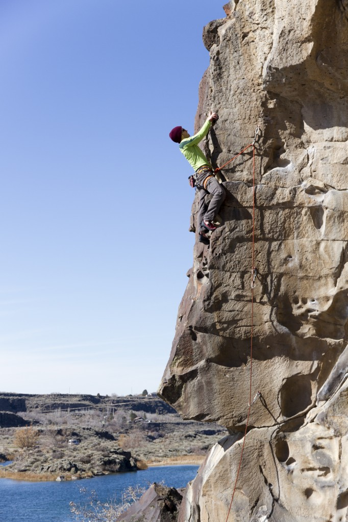 Ben on the cool features of Air-rete (5.10a)