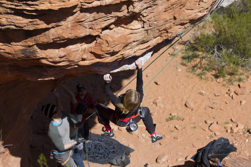 Robyn one-hand sending on Director of Human Affairs (5.11a).
