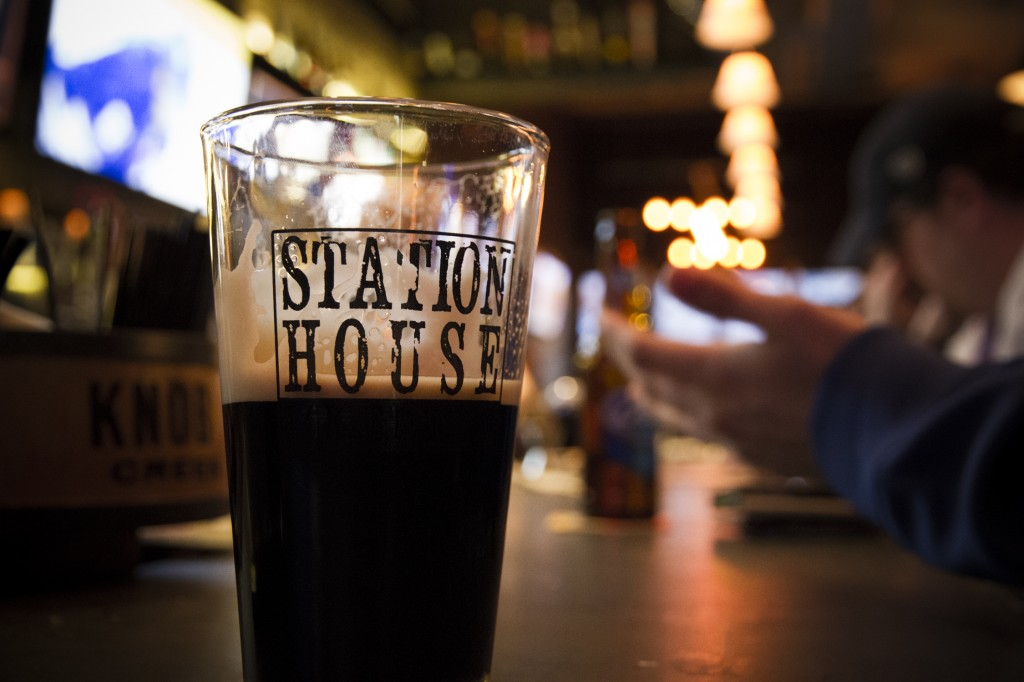 Hanging at the Station House. Left Hand Milk Stout on tap. A favorite!