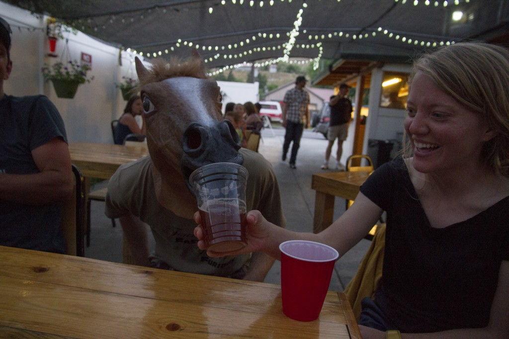 If you have ever fed a horse a beer you are broke.