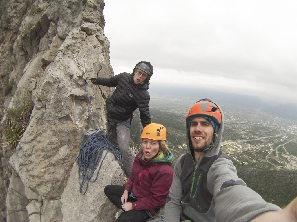 On top! Yankee Clipper (5.12a)