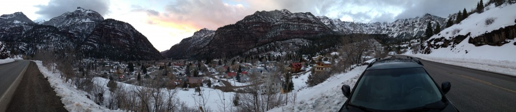 Ouray Colorado. Super cool little spot.