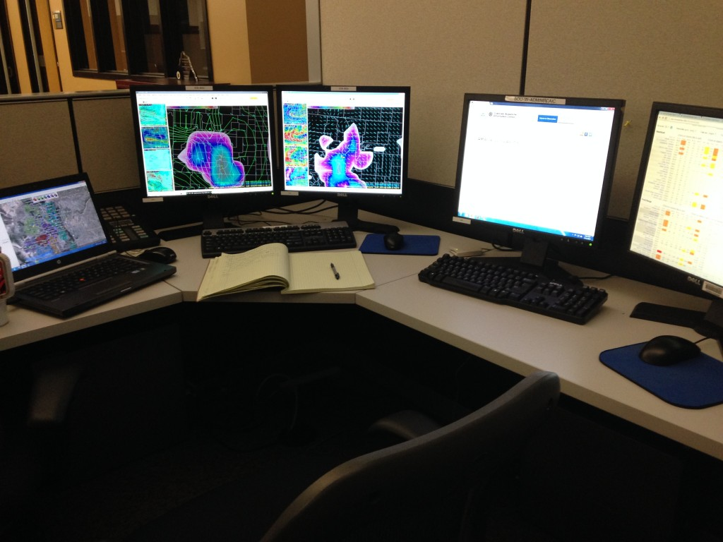 Time to crank out statewide weather… after more coffee.