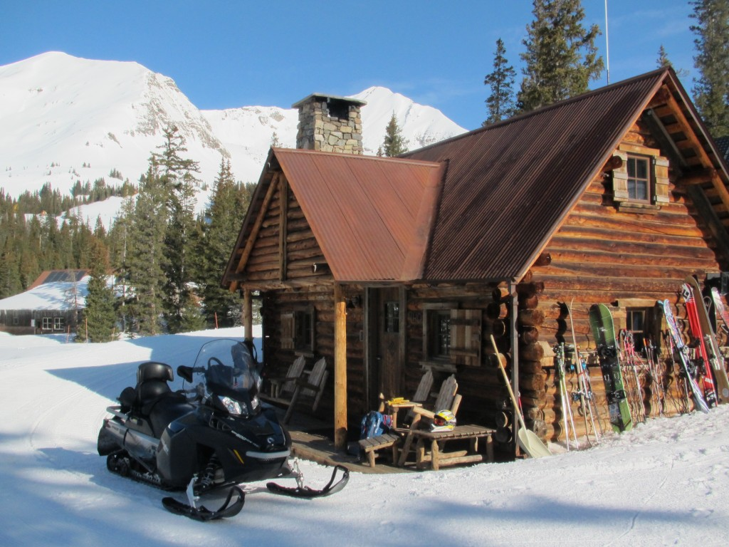 Irwin Cat Ski Cabin.. Probably the nicest backcountry cabin you will ever see. Gunnison Zone