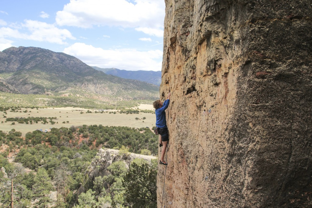 Ethan on Dr. Howard's Digital Exam (5.10b).
