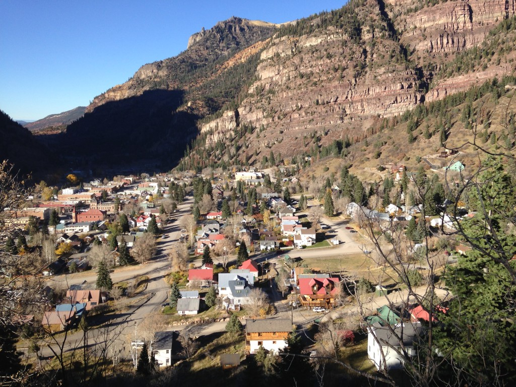 Ouray Colorado may be the prettiest mountain town I have ever seen. Robyn and I are going to try to make it down for the Ouray Ice Fest this winter!