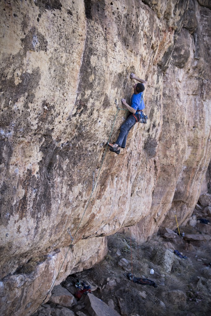 Oh so close. Next weekend for sure. Nate on My Generation 5.12d - Shelf Road, CO