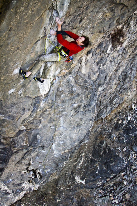 The Clear Creek Canyon guidebook author on Life After Death 5.13b/c