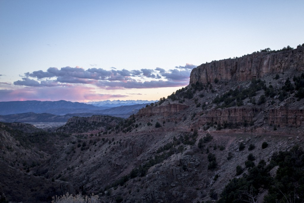We've come to realize that driving the Shelf Road down from Cripple Creek (while a bit rougher on Buck) takes the same amount of time and avoids all the traffic. Plus the views aren't half bad.