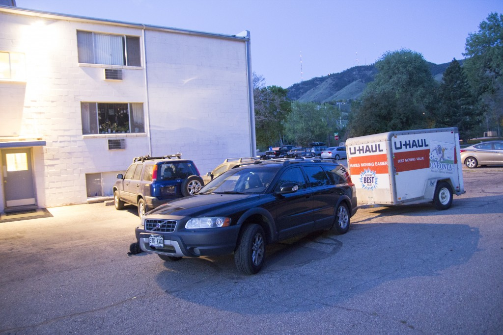 Oh yeah, and we downsized our apartment to save some $$$. Meant a long Uhaul trip back to Idaho to off-load some gear.