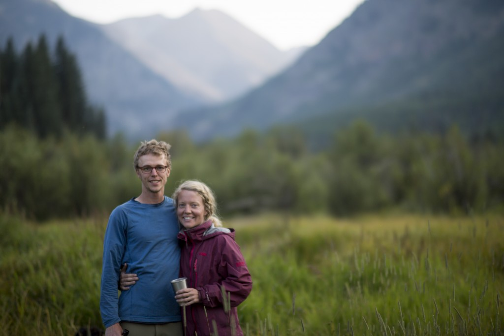Family portraits in a meadow. Photo: Nate Liles