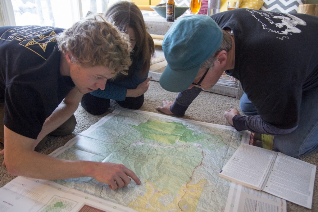 Planning summer adventures in the Boulder and White Cloud Mountains.